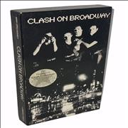 The Clash Clash On Broadway - hype stickered USA cd album box set