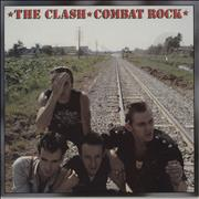 Click here for more info about 'The Clash - Combat Rock + Poster - VG'