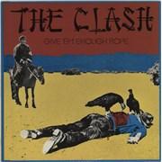 The Clash Give 'Em Enough Rope Netherlands vinyl LP