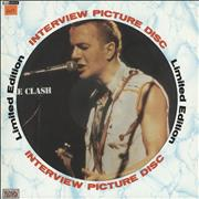Click here for more info about 'The Clash - Interview Picture Disc'