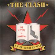 Click here for more info about 'The Clash - Know Your Rights + Sticker'