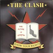 Click here for more info about 'The Clash - Know Your Rights'