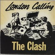 Click here for more info about 'The Clash - London Calling - Yellow P/S - EX'