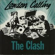 Click here for more info about 'The Clash - London Calling - Green sleeve'