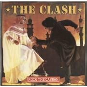 "The Clash Rock The Casbah - EX UK 12"" vinyl"