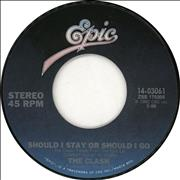 Click here for more info about 'The Clash - Should I Stay Or Should I Go?'