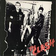 Click here for more info about 'The Clash - The Clash - graduated orange label'