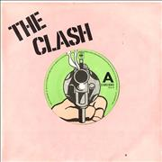Click here for more info about 'The Clash - (White Man) In Hammersmith Palais - Pink'