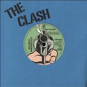 Click here for more info about 'The Clash - (White Man) In Hammersmith Palais - Blue - EX'