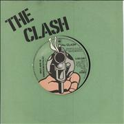Click here for more info about 'The Clash - (White Man) In Hammersmith Palais - Green - WOL'