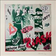 Click here for more info about 'The Clash - White Riot - Punk Art Print'