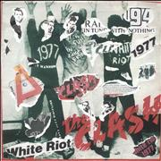 Click here for more info about 'The Clash - White Riot - Punk Art sleeve'