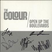 Click here for more info about 'The Colour - Open Up The Boulevards - White Vinyl + Autographed'