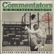 Click here for more info about 'The Commentators - N-N-Nineteen Not Out - P/S'