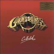 Click here for more info about 'The Commodores - Collected - Red & Gold Vinyl'