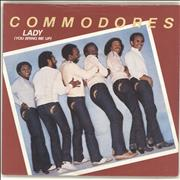 Click here for more info about 'The Commodores - Lady (You Bring Me Up) - 4prong + Sleeve'
