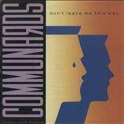 Click here for more info about 'The Communards - Don't Leave Me This Way'