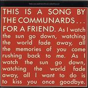 Click here for more info about 'The Communards - For A Friend'