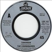 Click here for more info about 'The Communards - Tomorrow - Jukebox Issue'