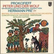 Click here for more info about 'The Concertgebouw Orchestra - The Young Person's Guide To The Orchestra, Peter und der Wolf'