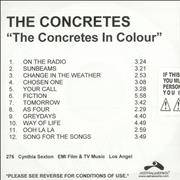 Click here for more info about 'The Concretes - The Audience's Listening'