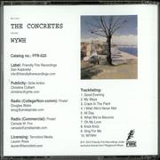 Click here for more info about 'The Concretes - WYWH'