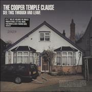 Click here for more info about 'The Cooper Temple Clause - See This Through And Leave'