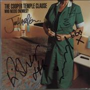 Click here for more info about 'The Cooper Temple Clause - Who Needs Enemies? - Autographed'