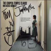 Click here for more info about 'The Cooper Temple Clause - Who Needs Enemies? - Fully Autographed'