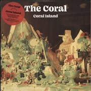 Click here for more info about 'The Coral - Coral Island - Transparent Lime Vinyl + Signed Print'
