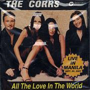 The Corrs All The Love In The World Philippines CD single Promo