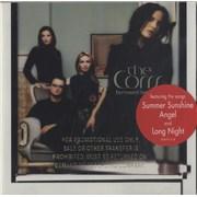 The Corrs Borrowed Heaven USA CD album Promo