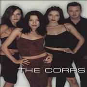 The Corrs City In The Park + Ticket Stub UK tour programme