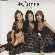 The Corrs Dreams UK CD single Promo