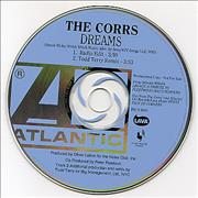The Corrs Dreams USA CD single Promo