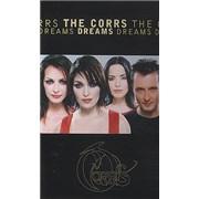 The Corrs Dreams USA cassette single
