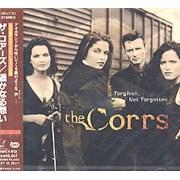 The Corrs Forgiven Not Forgotten Japan CD album