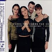 The Corrs I Never Loved You Anyway + Calendar Cards Japan CD single Promo