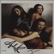 Click here for more info about 'The Corrs - In Blue- Seated'