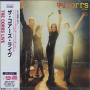 The Corrs Live Japan CD album Promo