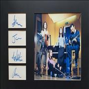 Click here for more info about 'The Corrs - Mounted Autographs & Photograph'