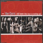 The Corrs Old Town [This Boy Is Cracking Up] Germany CD single