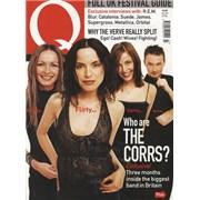 The Corrs Q Mazagine UK magazine