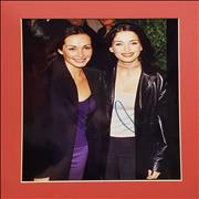 Click here for more info about 'The Corrs - Sharon & Caroline Signed And Mounted Photo'