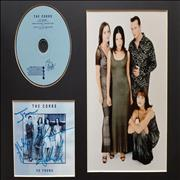 Click here for more info about 'The Corrs - So Young - Mounted CD, Photo & Signed Artwork'