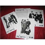 The Corrs Talk On Corners - 3 Photos USA press pack Promo