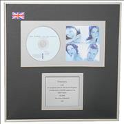 The Corrs Talk On Corners - Special Edition UK in-house award disc