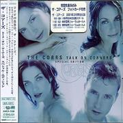 The Corrs Talk On Corners Special Edition Japan CD album Promo