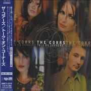 The Corrs Talk On Corners Japan CD album Promo