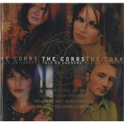 The Corrs Talk On Corners USA CD album Promo